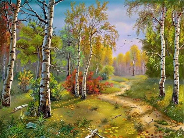 Знания про лес, сады, деревья