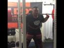 Оделл Мануэль - присед 260 кг на 9 повторов