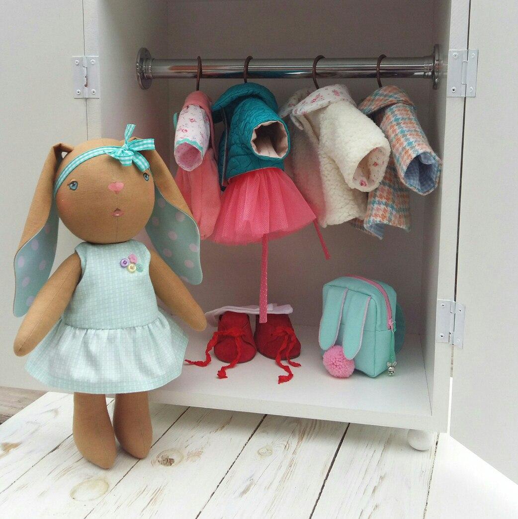авторские игрушки заяц
