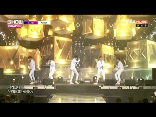 KNK - Knock @ Show Champion in Manila 161109