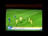 Видео супер-гола Нусербаева пяткой и других мячей в матче Казахстан - Кипр