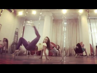 Exotic Pole Dance - Daria Che / Дарья Чеботова!