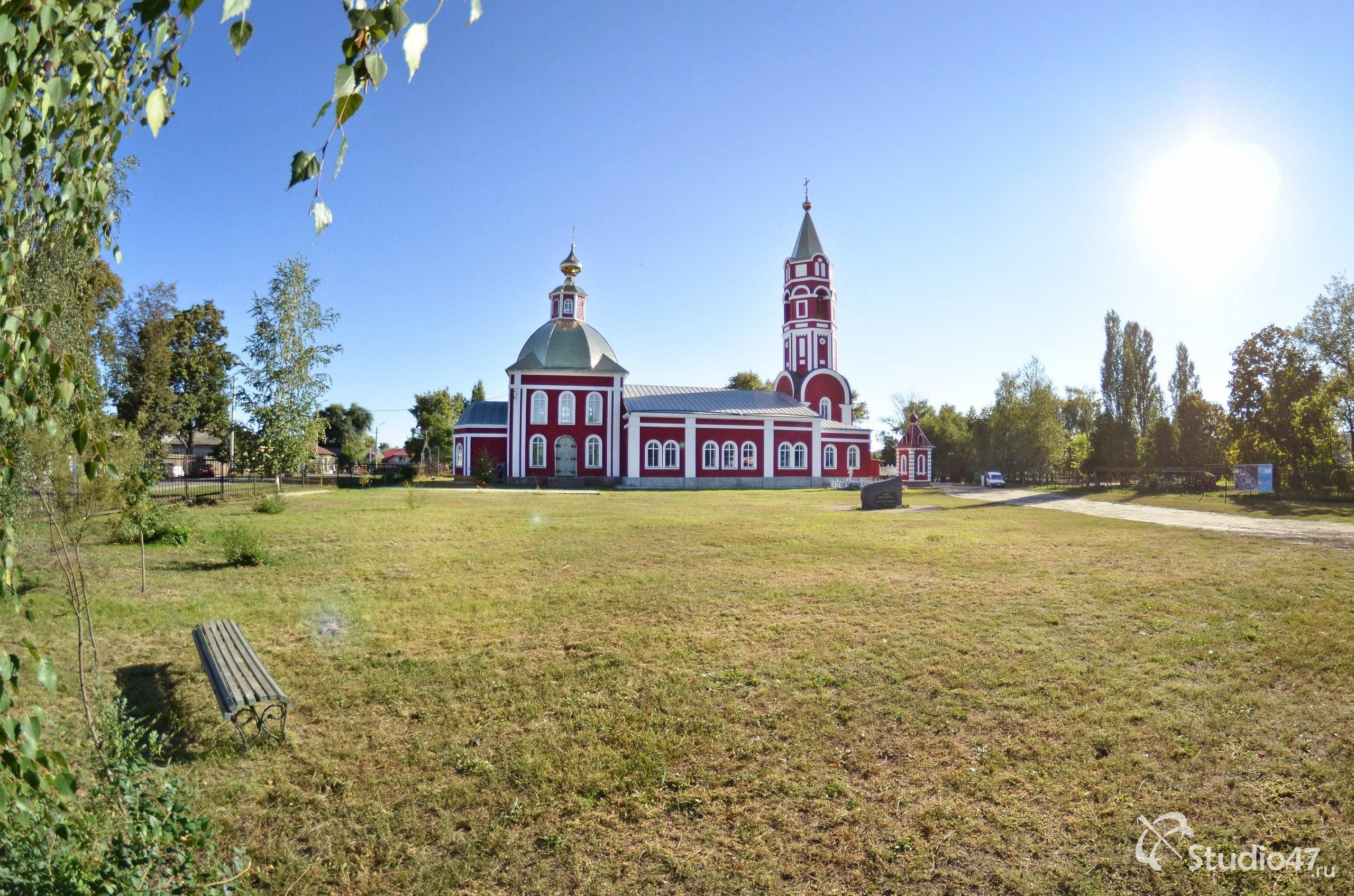Церковь святых Бориса и Глеба в Борисоглебске