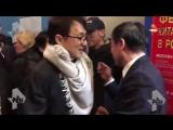 Джеки Чан приехал в Москву