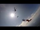 """Прыжок с вертолета в центре города П.  """"Кижские Купола 1.0"""""""