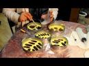 Урок по созданию гипсовых слепков листьев