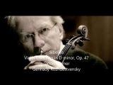 Sibelius Violin Concerto op 47 Gidon Kremer Gennady Rozhdestvensky