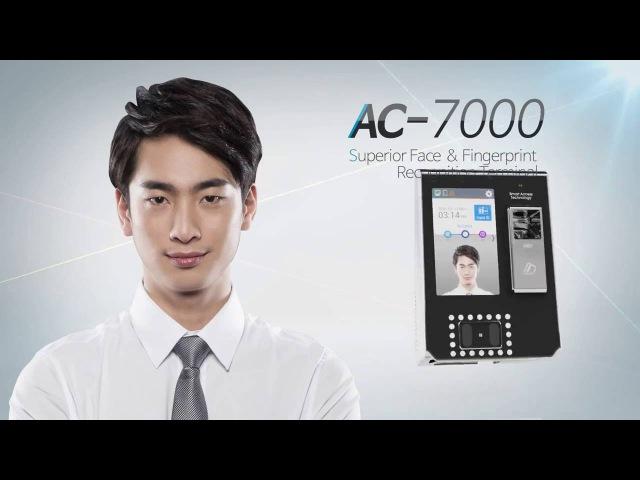 Биометрический терминал распознавания лица VIRDI AC-7000