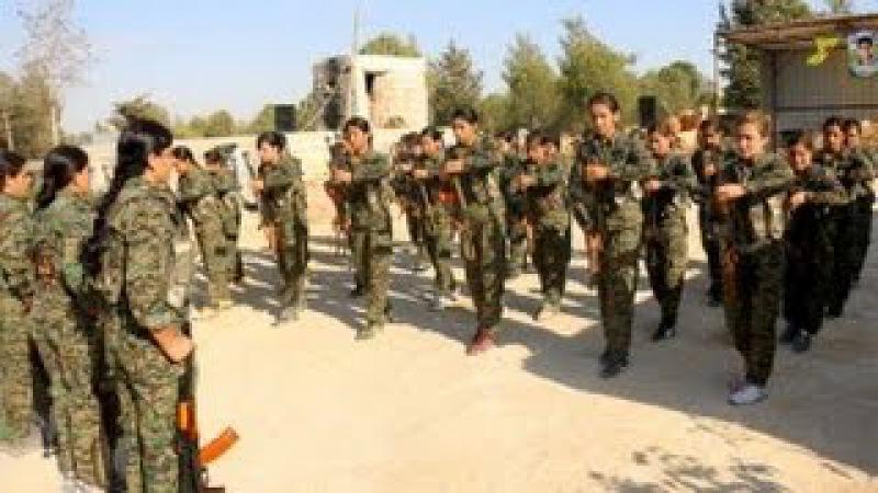 Efrîn- Îlankirina Tabûreke Nû Ya YPJ'Ê, Bi Navê Şehîd Ruken