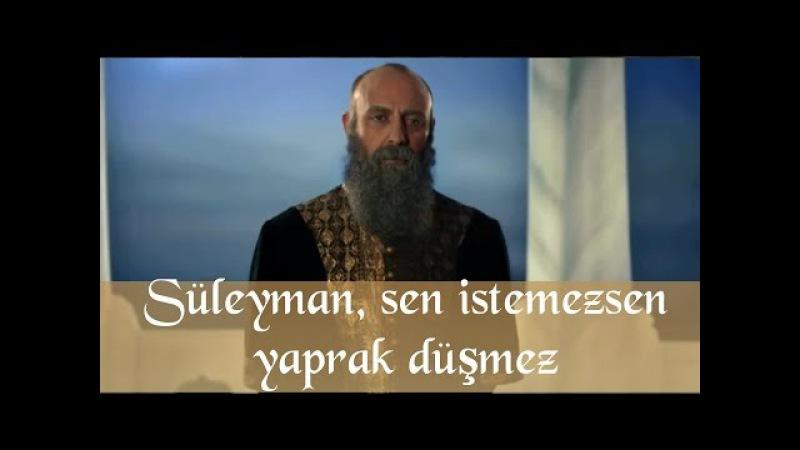 Muhteşem Yüzyıl 130. Bölüm - Süleyman Sen istemezsen yaprak dahi düşmez