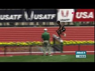 Ruth Jebet Wins Women's 3000m Steepl,echase IAAF Diamond League Eugene 2016