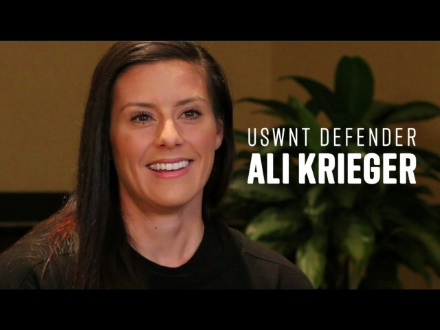 US Youth Soccer One on One with USWNT Defender Ali Krieger