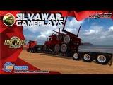 Reboque Lowboy com carga de caminhão Australiano ETS2 126 REBOQUE 100% COMPATIVEL COM MAPA EAA