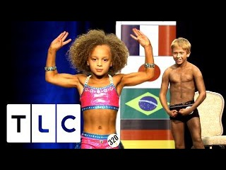8 Year Old Competes In Bodybuilding Contest   Baby Bodybuilders