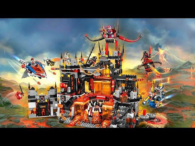 Лего Нексо Найтс.Логово Джестро, Рыцари и Злодеи.Видео для Детей.Nexo Knights.LEGO