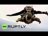 91-летний ветеран ВОВ прыгнул с парашютом ко Дню Победы!