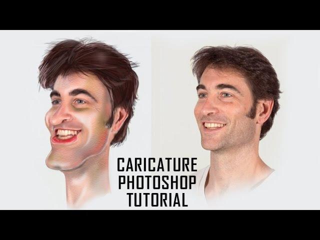 Caricature Photoshop Tutorial | MutualGrid