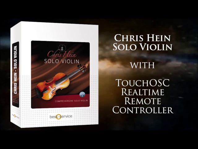 Chris Hein - Solo Violin with Touch OSC