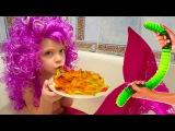 Желейный червяк или настоящие черви Обычная еда Русалки существуют The Mermaid Видео...