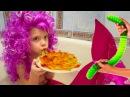 Желейный червяк или настоящие черви Обычная еда Русалки существуют The Mermaid Видео