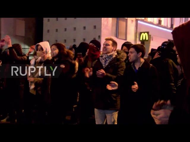 Франция: Беспорядки в Париже, как протестующие продолжают поносить полиции изнасилования и жестокого обращения с негром.