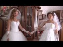 Свадьба сестренок двойняшек и родных братьев Юра Лена и Саша Леся