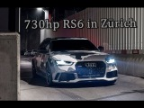 Camouflage Audi RS6 C7 with 730hp &amp Miltek Exhaust in Z