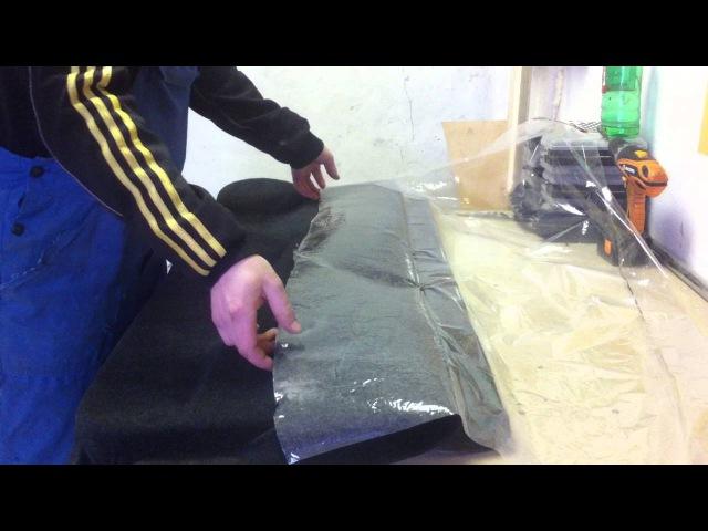 перетяжка салона в карпет