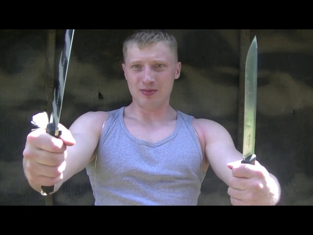 Жесткие тесты нож Extrema Ratio Harpoon VS Steel Will Druid 230