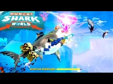 Hungry Shark World. Megalodon. Симулятор акулы убийцы. Gameplay iOS/Android