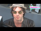 Ian Somerhalder of Vampire Diaries @ Larry King Live in CNN Hollywood!