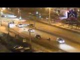 В Красноярске женщина попала под колеса иномарки, перебегая дорогу в неположенн...