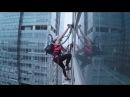 Sierra Blair-Coyle erklimmt Hochaus mit Hilfe von 2 LG CordZero™ Staubsaugern