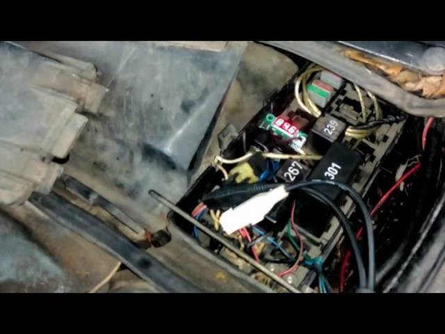 Audi 100 2.8 Avant Quattro - Настраиваем электронный термоконтроль