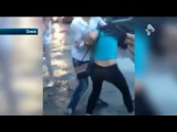 Драка в грязи девушек из Омска попала на видео