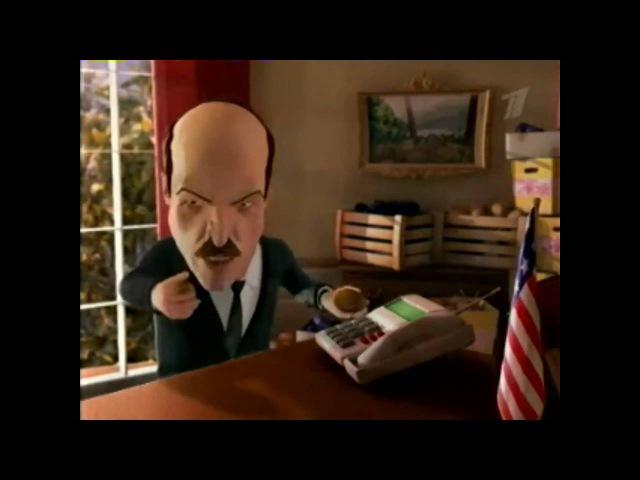 Лукашенко в Вашингтоне скрещивает картошку