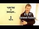 Кто Я? Евгений Койнов. Чувства и эмоции.