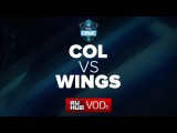 Complexity -vs- Wings, ESL One Manila LAN Finals, Group A, game 1