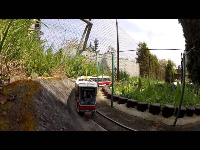 Zahradní tramvaj Model 2x T6A5