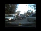 Авария на улице Новая Заря