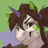 Crazy Green Unicorn
