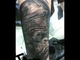Tattoo gorilla Salah