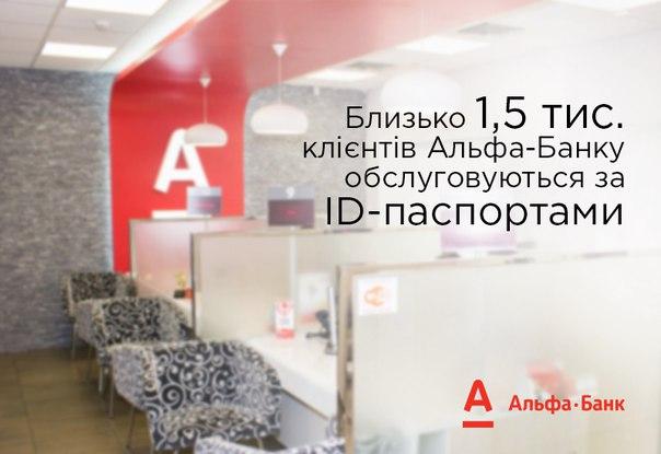 Ми обслуговуємо громадян з ID-паспортами 🙂 Наразі це близько 1,5 тис.