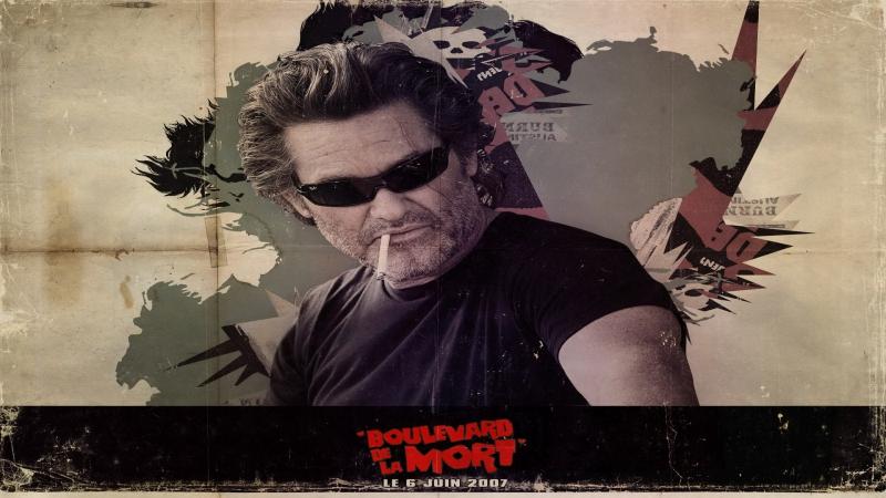 Доказательство Смерти - Death Proof ( 2007 Quentin Tarantino ) Сцена Крушения - Car Crash Scene