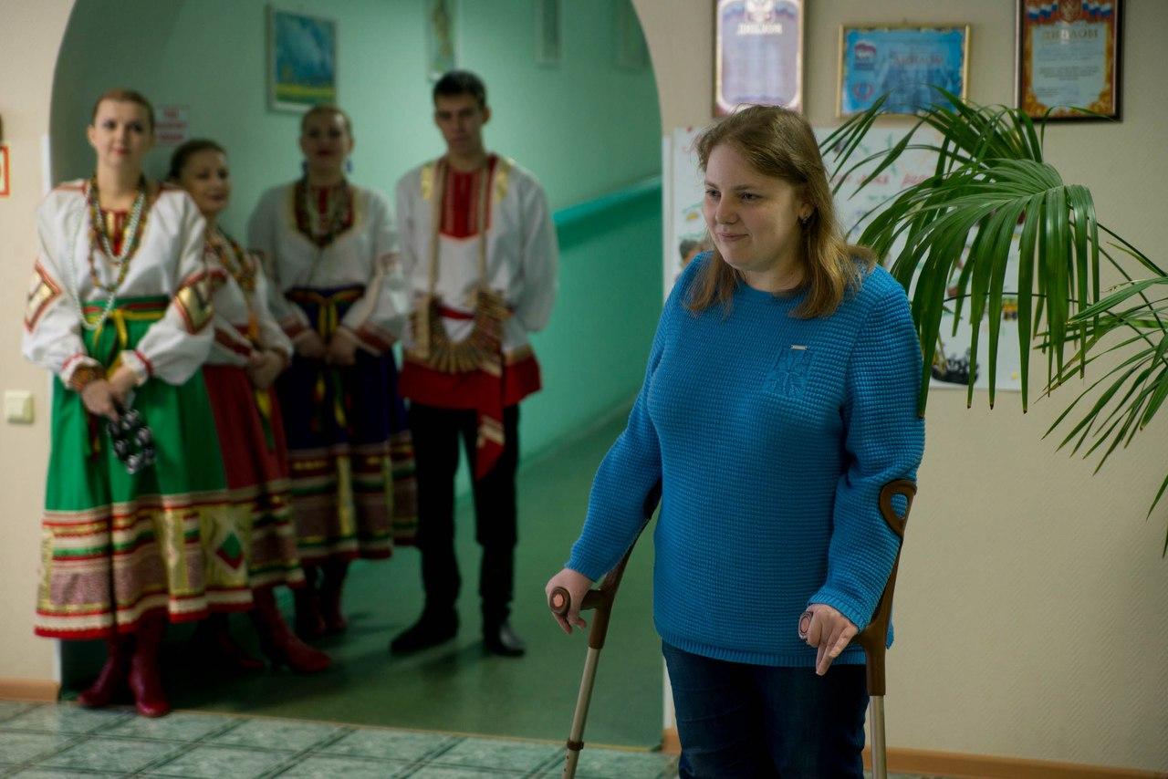 Территория добра поздравляла жителей Дома Ветеранов в Зеленом городе