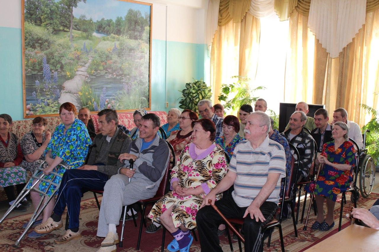 Волонтеры Территория добра съездили в Лысковский дом-интернат для престарелых и инвалидов