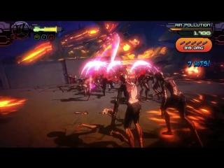 Прокачай Нинзя и руби толпы зомби в новой бесплатной игре!