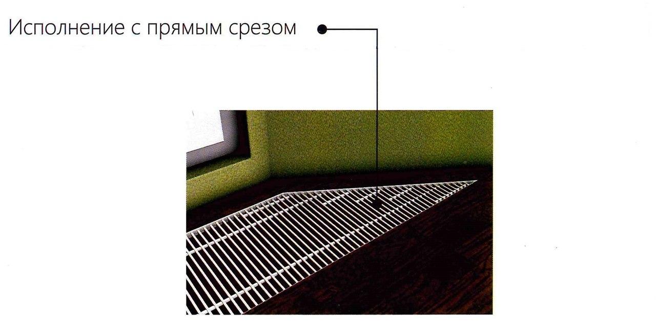 внутрипольный конвектор Vitron