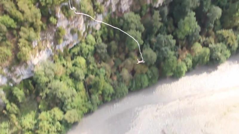 Мой первый прыжок с высоты 207 метров SKYPARK AJ HACKETT SOCHIСКАЙПАРК ЭйДжей Хаккетт