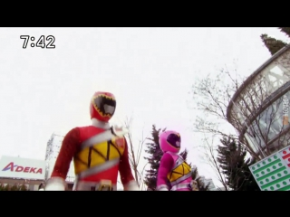 [dragonfox] Zyuden Sentai Kyoryuger - 08 (RUSUB)